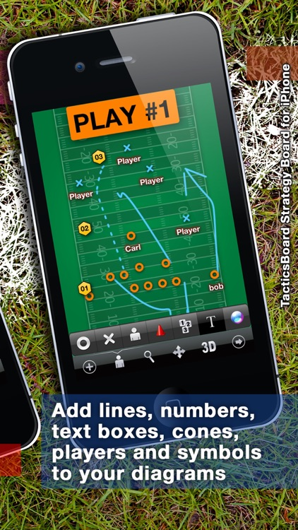 TacticsBoard for Coaches of 22 Sports
