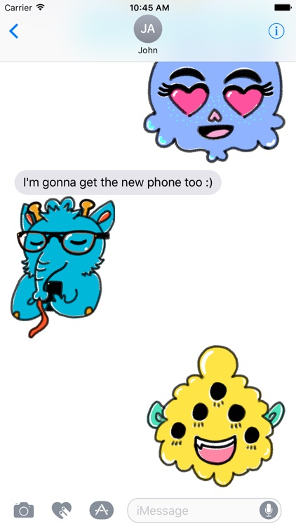 Monstermoji - Emoji Sticker Pack screenshot-3