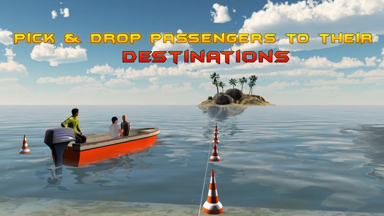 3D Motor Boat Simulator – Ride high speed boats in this driving simulation game screenshot-3