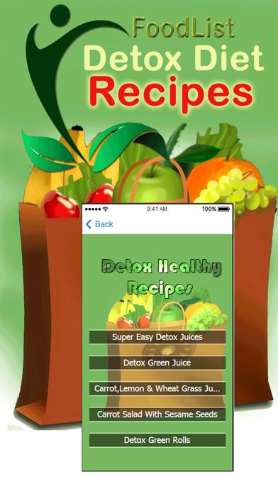 Body Detox Diet Recipes - 7 Days Detox Plan screenshot two