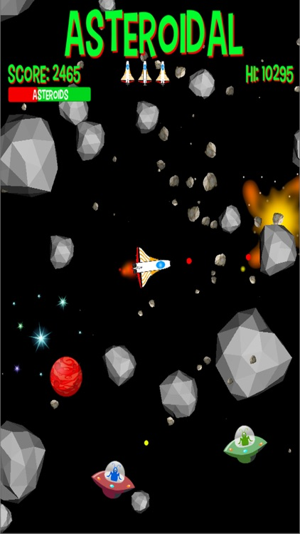 Asteroidal Pro screenshot-3