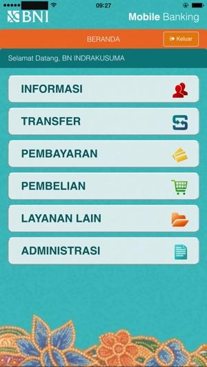 M Banking Bni