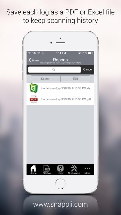 Home Inventory App screenshot-4