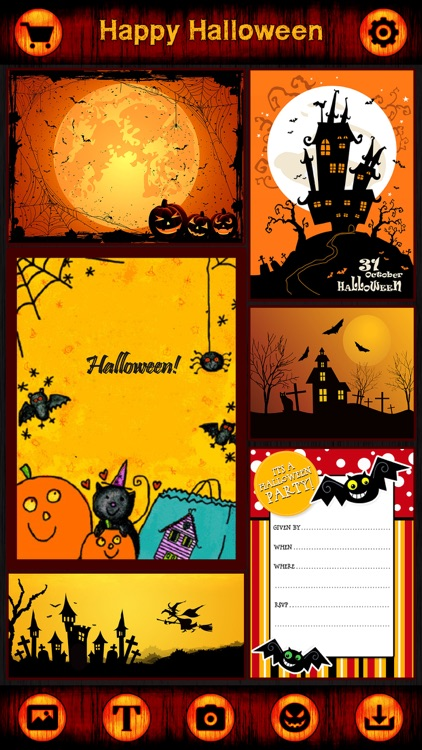 HD Halloween Cards, Stickers & Frames for Greeting screenshot-3