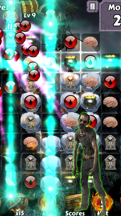 Zombie Mania Halloween World - Free puzzle games for trick or treat screenshot three