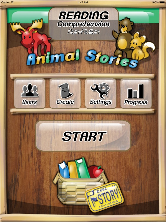 Kids Reading Comprehension screenshot-0