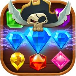 Lost Pirate Treasure Jewels - Jewels Hunter Mania