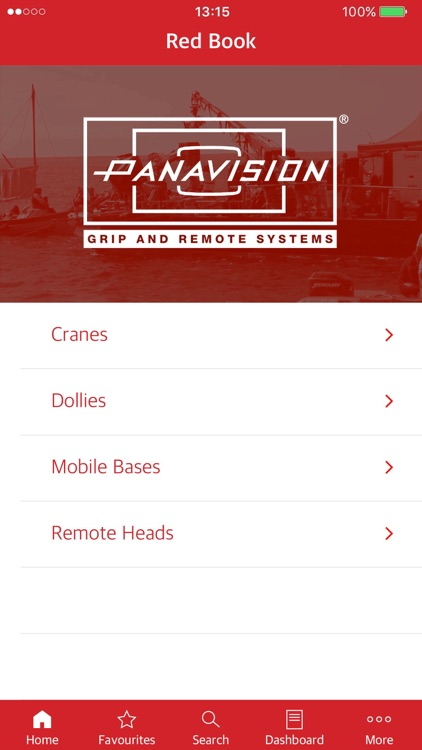 Panavision Red Book