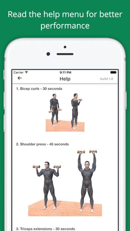 Upper Body Challenge Workout Challenge Free screenshot-4
