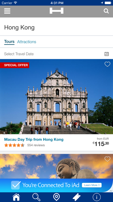 Hong Kong Hoteles + Compara y Reserva de hotel para esta noche con el mapa y viajes turísticosCaptura de pantalla de2