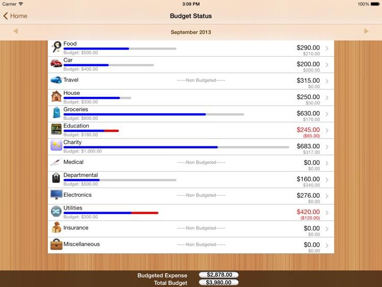 ExpenSenseHD screenshot-3