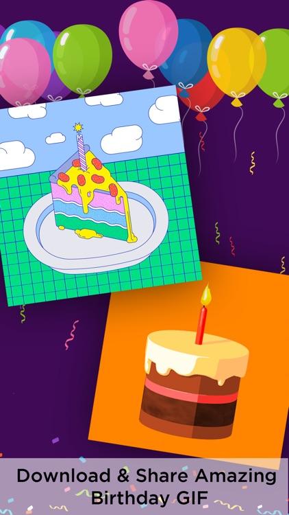 Birthday GIF screenshot-3
