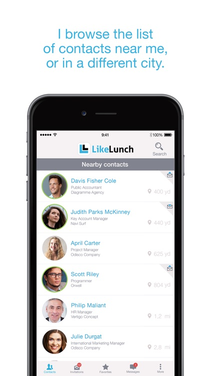 LikeLunch: the business meet-ups application