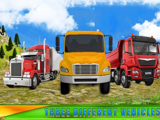 Игра Truck Drive Cargo 3D