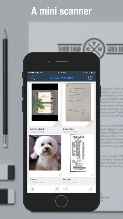 Scan Master Pro - PDF Scanner to Scan Docs & Cards screenshot-0
