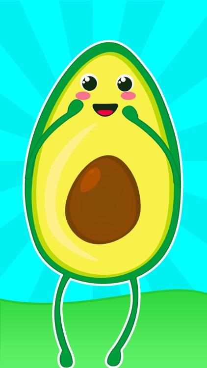 Little Avocados Stickers