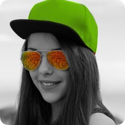 Color Splash Effect.s - Photo Editor for Selective Recolor on Black & White Image