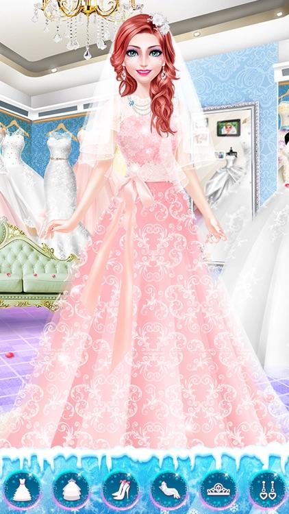 Snow Wedding Day - Girls Salon