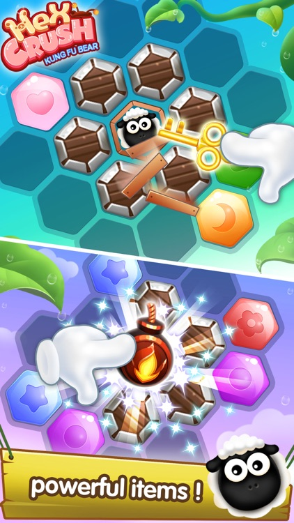 Hex Crush: Block Games Free GO