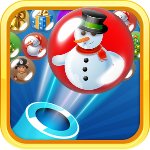 Christmas bubble shooter 2 : A seriously addictive christmas eve bubble explode adventure.