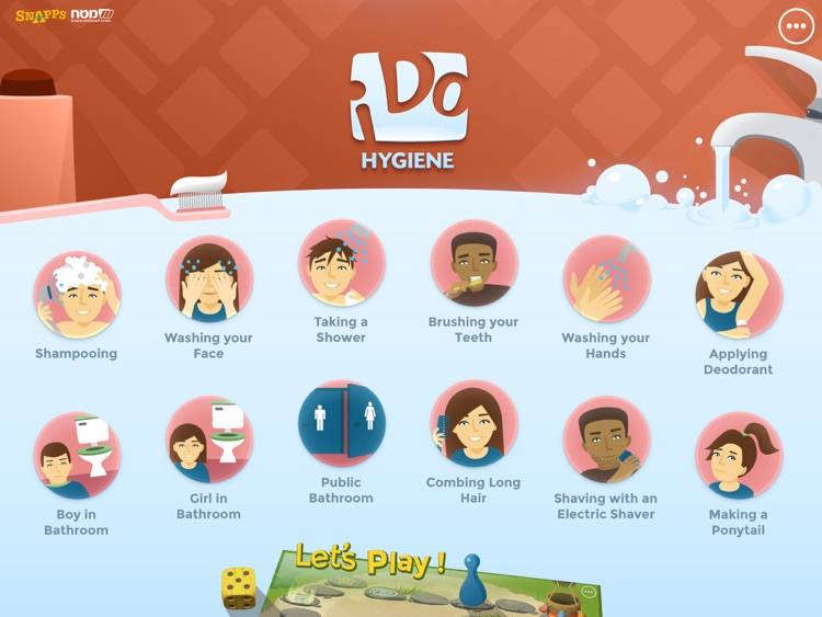 iDo Hygiene –Daily life skills activities, for individuals with special needs (full version)
