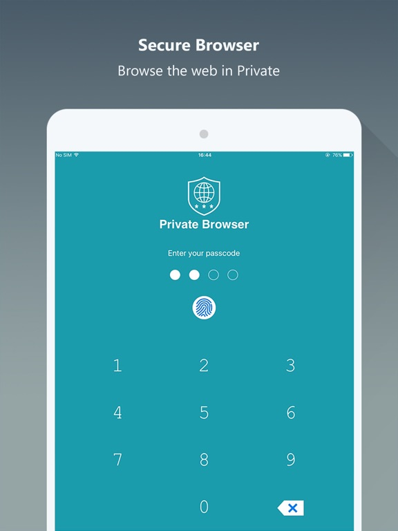 Screenshot #1 for Private Browser PRO - Safe Browsing & File Manager