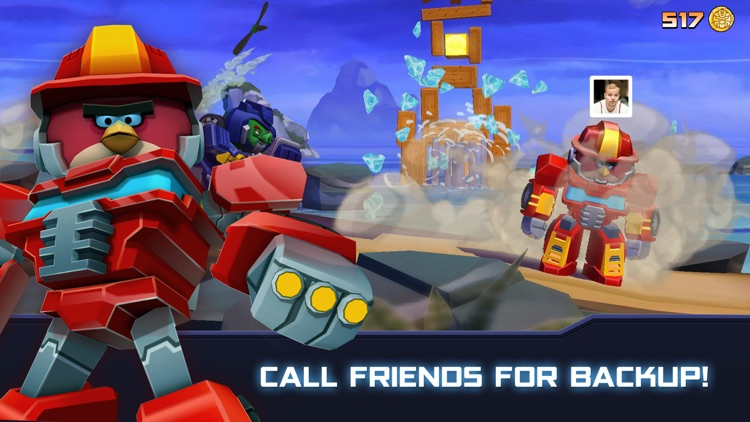 Angry Birds Transformers screenshot-2