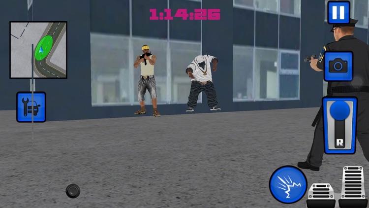 SWAT Police car vs Grand Rokeman Crime Simulator screenshot-4