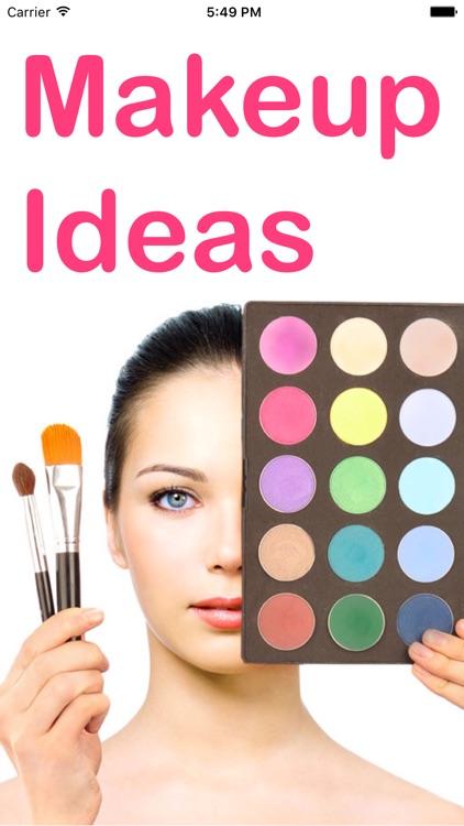 Makeup Ideas - Eyes Lipstick, Eyebrows Contouring