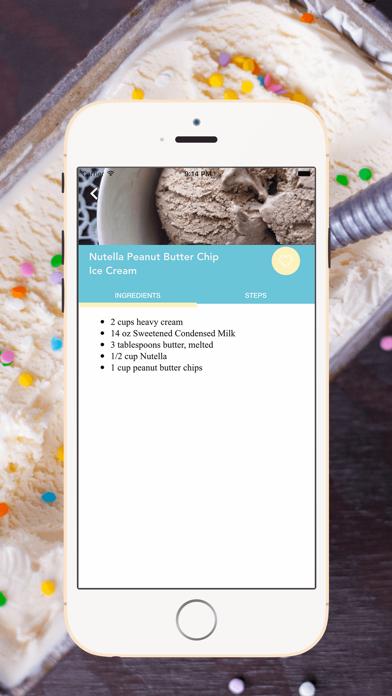 Homemade Ice Cream Recipes screenshot three