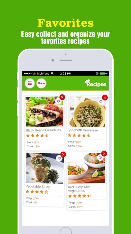 Yummy Vegetarian Pro ~ Healthy vegetarian recipes screenshot-3