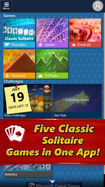 Microsoft Solitaire Collection screenshot-1