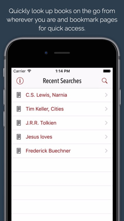 Search Catalog: Search the WTS library anywhere