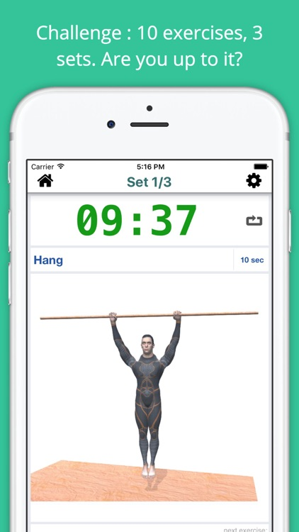 Pull-up Bar Workout Challenge PRO - Build muscles screenshot-1