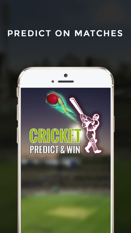 Cricket Predict and Win