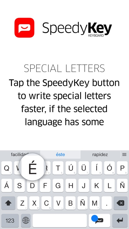 SpeedyKey Keyboard