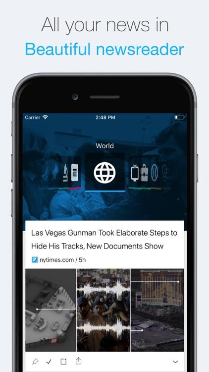 NewsTab: Smart RSS Reader screenshot-0