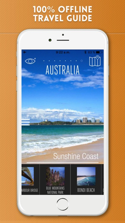 Australia Travel Guide and Offline Street Map