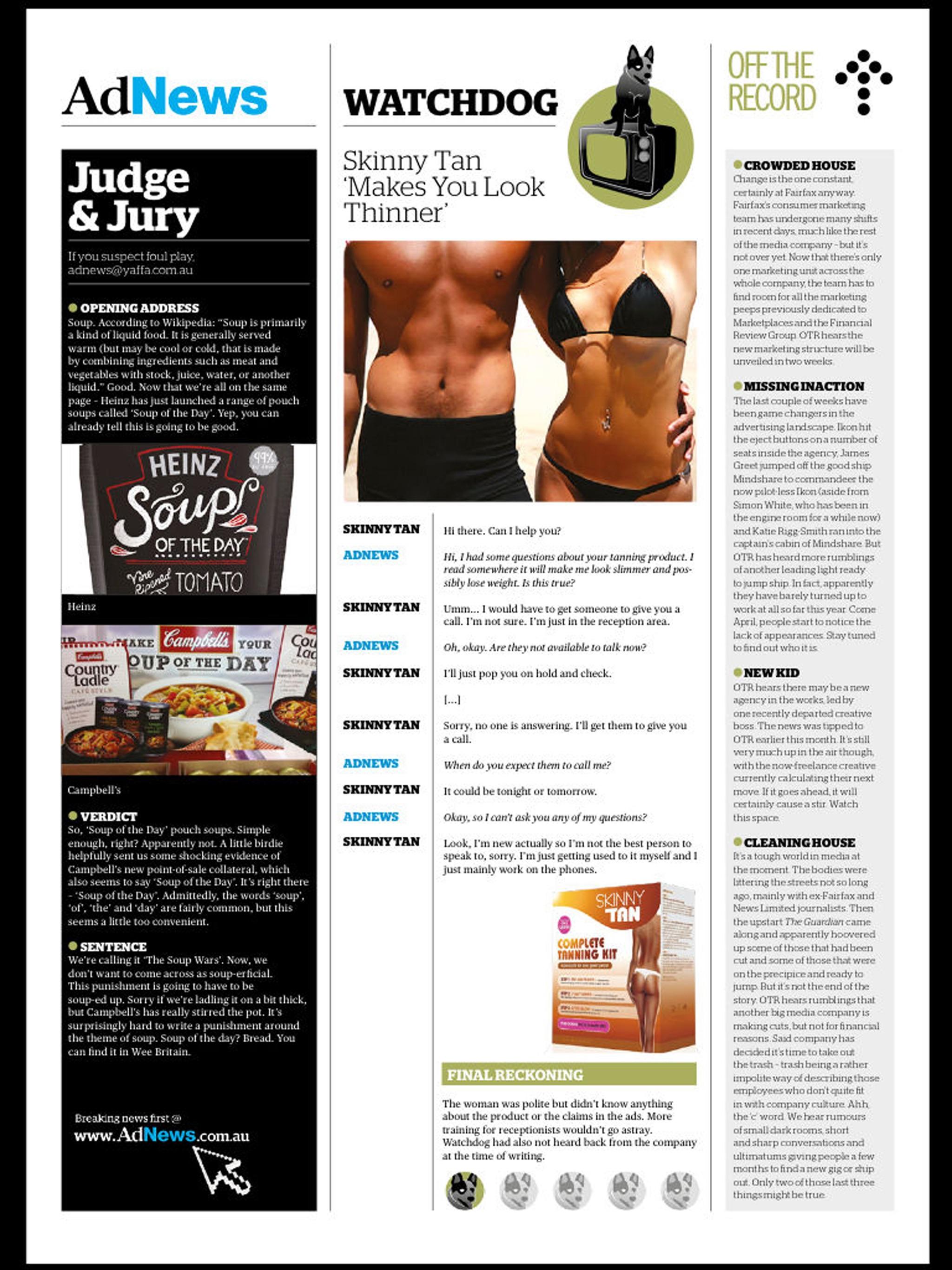 "Ad News Magazine ""December"" hack"