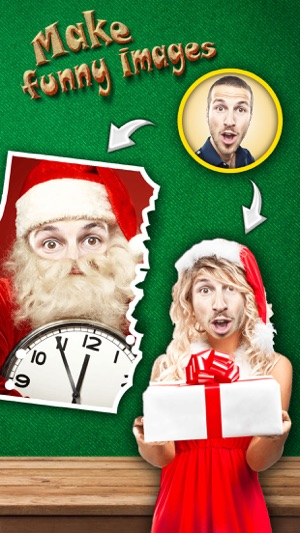 Christmas face effects pro visage photo booth to turn yourself christmas face effects pro visage photo booth to turn yourself into santa claus xmas elf on the app store solutioingenieria Images