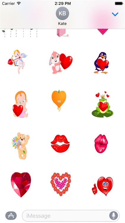 I Love You Sticker Pack screenshot-0