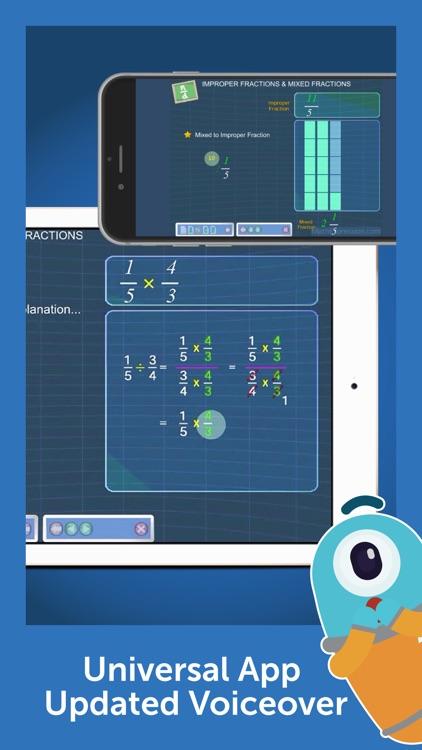 Fraction Basics - Easy & Effective Fractions Tutor screenshot-3