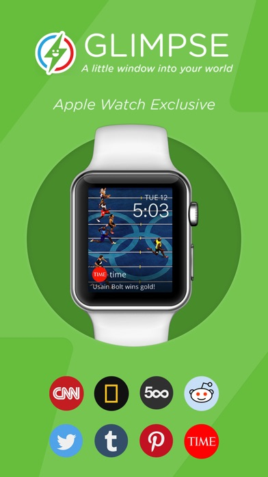 Glimpse Watch Face - A little window to your world Screenshot on iOS