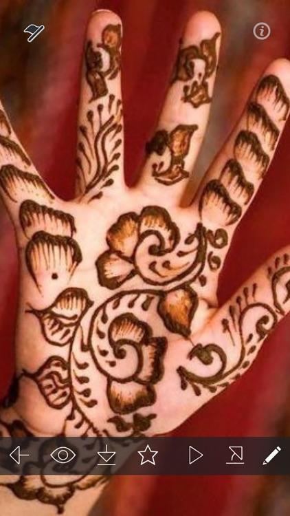 Henna Tattoo Designs Ideas - Arabic Mehndi Idea!
