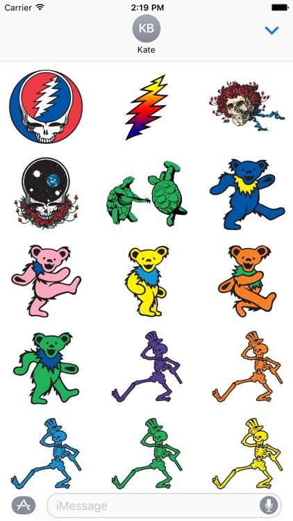 Grateful Dead Sticker Pack