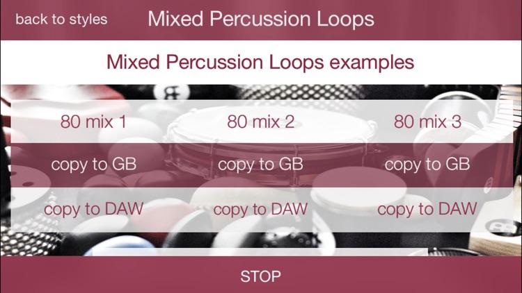 Percussion Loops HD Light screenshot-3