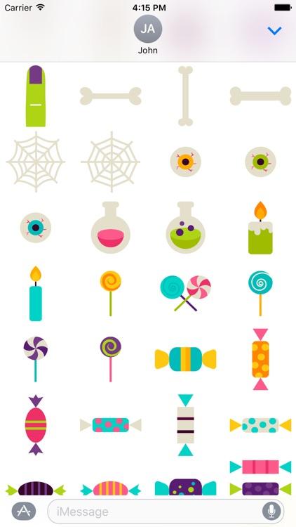 HalloMoji - Happy Halloween Emoji Stickers screenshot-4