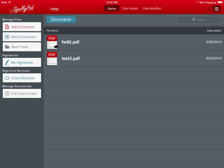 SignMyPad screenshot-0