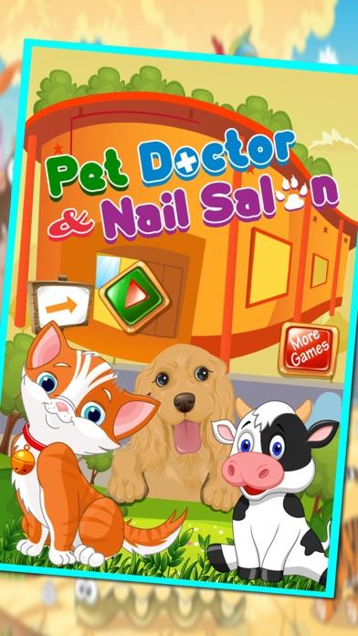 Pet doctor & nail salon – My mini pets fancy nail makeover &