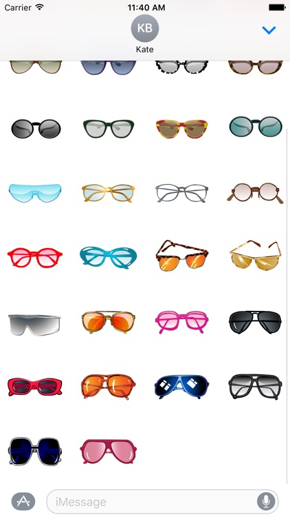 Sunglasses Stickers